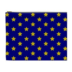 Star Pattern Cosmetic Bag (XL)