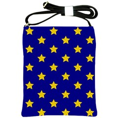 Star Pattern Shoulder Sling Bags