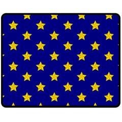 Star Pattern Fleece Blanket (medium)