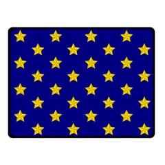 Star Pattern Fleece Blanket (small)