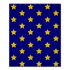 Star Pattern Shower Curtain 60  X 72  (medium)