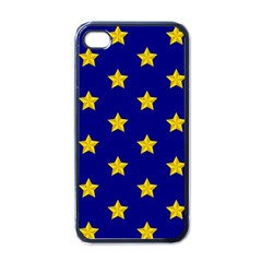 Star Pattern Apple Iphone 4 Case (black)
