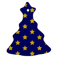 Star Pattern Christmas Tree Ornament (two Sides)