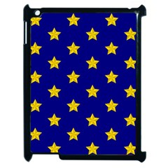 Star Pattern Apple Ipad 2 Case (black)