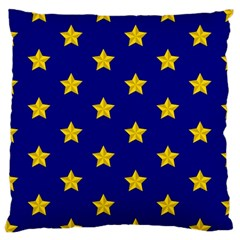 Star Pattern Large Cushion Case (one Side)