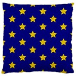 Star Pattern Large Cushion Case (Two Sides) Back