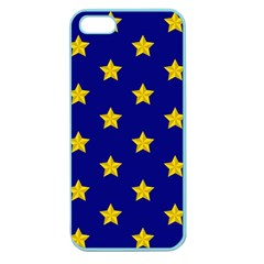 Star Pattern Apple Seamless Iphone 5 Case (color)