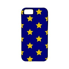 Star Pattern Apple Iphone 5 Classic Hardshell Case (pc+silicone)