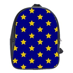 Star Pattern School Bags (xl)
