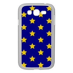 Star Pattern Samsung Galaxy Grand Duos I9082 Case (white)