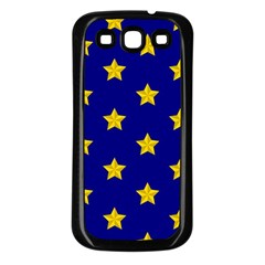 Star Pattern Samsung Galaxy S3 Back Case (black)