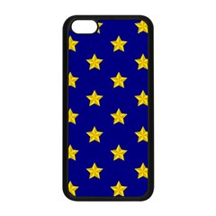 Star Pattern Apple Iphone 5c Seamless Case (black)