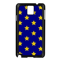 Star Pattern Samsung Galaxy Note 3 N9005 Case (black)