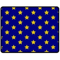 Star Pattern Double Sided Fleece Blanket (medium)