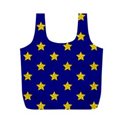Star Pattern Full Print Recycle Bags (m)