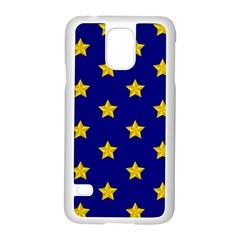 Star Pattern Samsung Galaxy S5 Case (white)