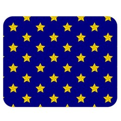 Star Pattern Double Sided Flano Blanket (medium)