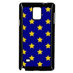 Star Pattern Samsung Galaxy Note 4 Case (black)