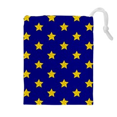 Star Pattern Drawstring Pouches (extra Large)