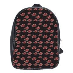 Cloud Red Brown School Bags(Large)