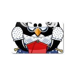 Grandma Penguin Magnet (name Card)