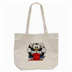 Grandma Penguin Tote Bag (Cream)