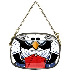 Grandma Penguin Chain Purses (two Sides)