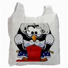 Grandma Penguin Recycle Bag (Two Side)