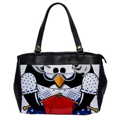 Grandma Penguin Office Handbags