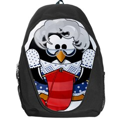 Grandma Penguin Backpack Bag