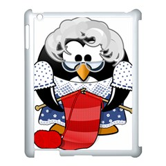 Grandma Penguin Apple Ipad 3/4 Case (white)