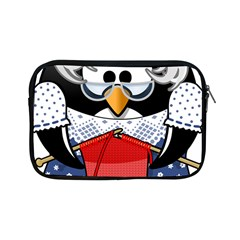 Grandma Penguin Apple Ipad Mini Zipper Cases