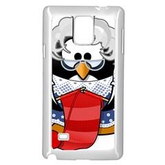 Grandma Penguin Samsung Galaxy Note 4 Case (White)