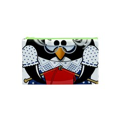 Grandma Penguin Cosmetic Bag (XS)