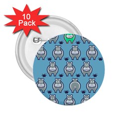 Funny Cow Pattern 2 25  Buttons (10 Pack)