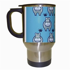 Funny Cow Pattern Travel Mugs (white)