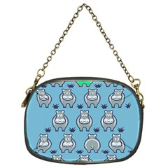Funny Cow Pattern Chain Purses (one Side)