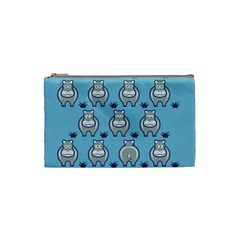 Funny Cow Pattern Cosmetic Bag (small)
