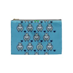 Funny Cow Pattern Cosmetic Bag (Medium)