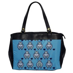 Funny Cow Pattern Office Handbags
