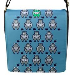 Funny Cow Pattern Flap Messenger Bag (s)