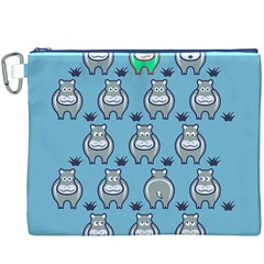 Funny Cow Pattern Canvas Cosmetic Bag (XXXL)