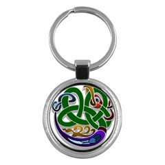 Celtic Ornament Key Chains (round)