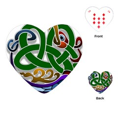Celtic Ornament Playing Cards (Heart)