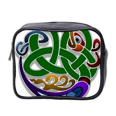 Celtic Ornament Mini Toiletries Bag 2-Side