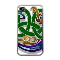Celtic Ornament Apple iPhone 4 Case (Clear)