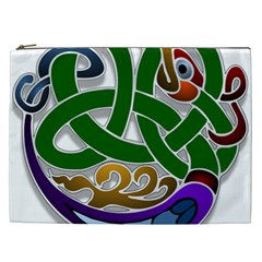 Celtic Ornament Cosmetic Bag (xxl)