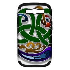 Celtic Ornament Samsung Galaxy S Iii Hardshell Case (pc+silicone)