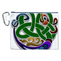 Celtic Ornament Canvas Cosmetic Bag (xxl)
