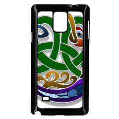 Celtic Ornament Samsung Galaxy Note 4 Case (Black)